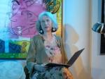 Christine Kahlau im Kunstquell