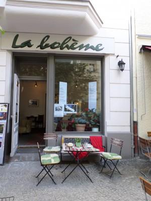 """Zeitliches"" im Cafè & Galerie La bohème"